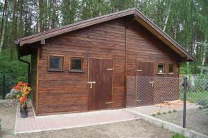 Budynek gospodarczy drewno