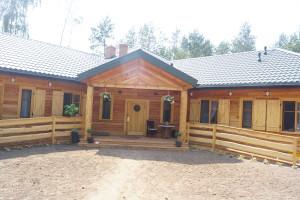 dom agroturystyczny drewno
