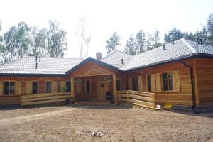 budynek agroturystyczny drewno