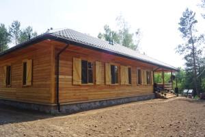 dom z drewna płock